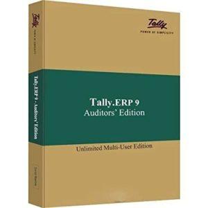 tally erp9 auditor edition