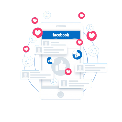 facebook like with electronic device 23 2147812430 removebg preview