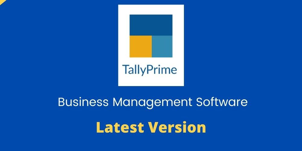 Tally Launches Tally prime to replace Tally ERP 9 - Get the new version with updated features