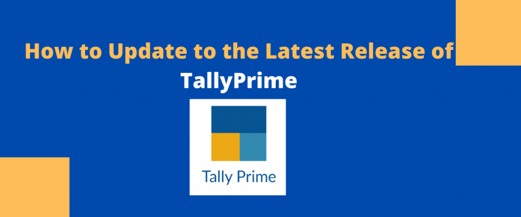 How to Update to the Latest Release of TallyPrime